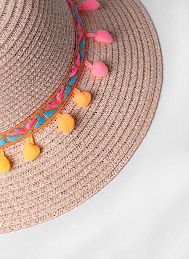Katia & Bony Kız Çocuk Line Şapka  Pudra